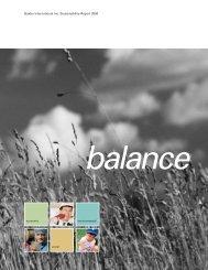 Baxter International Inc. Sustainability Report 2000