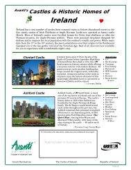 Castles Of Ireland - Avanti Destinations
