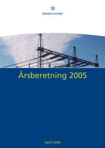 Årsberetning 2005.pdf - Energitilsynet