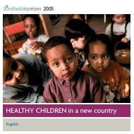 Engelsk - Sundhedsstyrelsen