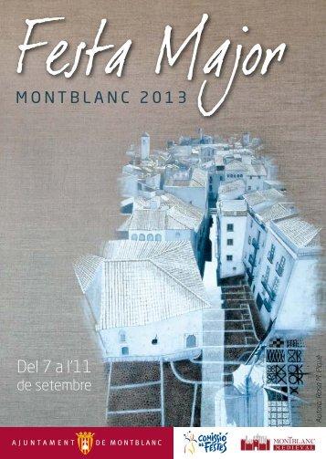 Programa 2013 - Montblanc Medieval