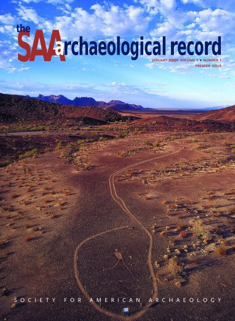 Number 1, January - Society for American Archaeology