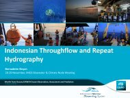 Indonesian Throughflow and Repeat Hydrography
