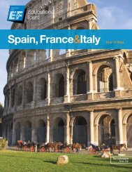 Spain, France&Italy 12 or 14 Days - EF Educational Tours