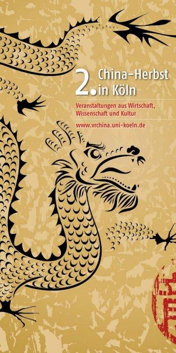 China-Herbst in Köln - Universität zu Köln