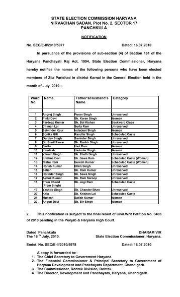punjab sarpanch election 2019 date
