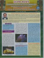 DOPR News Jan - Dec, 2009