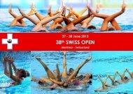 38th SWISS OPEN