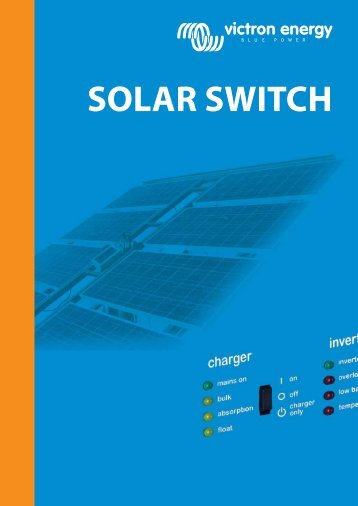 SOLAR SWITCH - Solar Bazaar