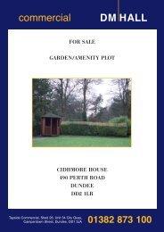 cidhmore house, 490 perth road, dundee, dd2 1lr - DM Hall