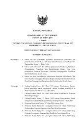 Perbup No 14 Tahun 2007 tentang Pedoman ... - Gunungkidul