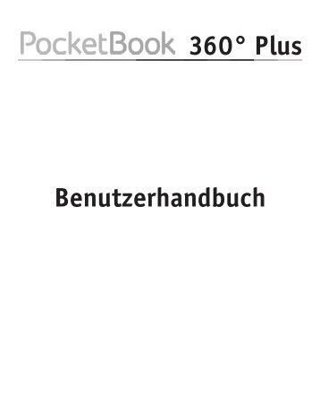 Benutzerhandbuch PocketBook 360° Plus
