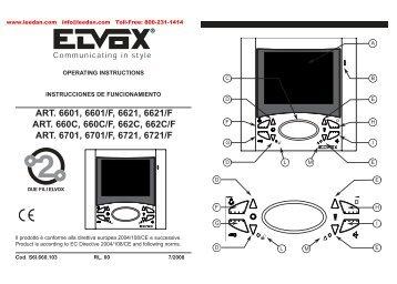Elvox Magazines