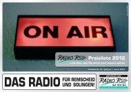 preisliste 2012_neu_bmp.cdr - Radio RSG