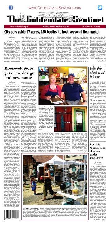 February 20, 2013 - Goldendale Sentinel