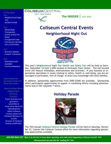 July - Coliseum Central