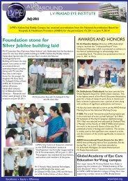 July 2011 - LV Prasad Eye Institute