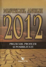 Misterul anului 2012 - Preziceri, profeţii şi ... - ideaticabluescafe