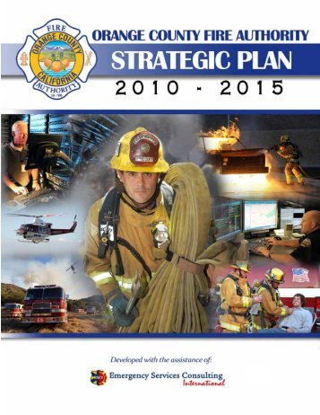 Customer-Centered Strategic Plan - Orange County Fire Authority