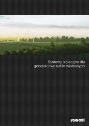 Systemy izolacyjne dla generatorów turbin wiatrowych - Von Roll