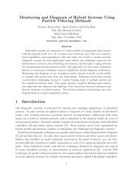Monitoring and Diagnosis of Hybrid Systems Using Particle Filtering ...
