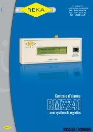 Téléchargez notre fiche produit RMZ241 - reka.fr