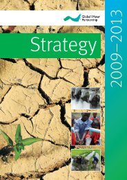 GWP Strategy 2009-2013 - Global Water Partnership