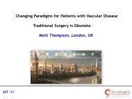 Traditional Surgery is Obsolete - Professor Matt ... - Parkside Hospital