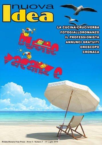 Scarica la rivista Numero 7 2013 - Nuovaidea.eu