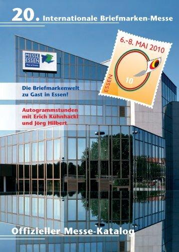 """Offizieller Messe-Katalog Auktion"""" - (Briefmarken) Messe Essen"""