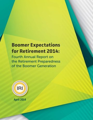 boomer-expectations-for-retirement-2014