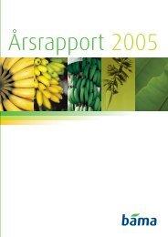 BAMA Årsrapport 2005