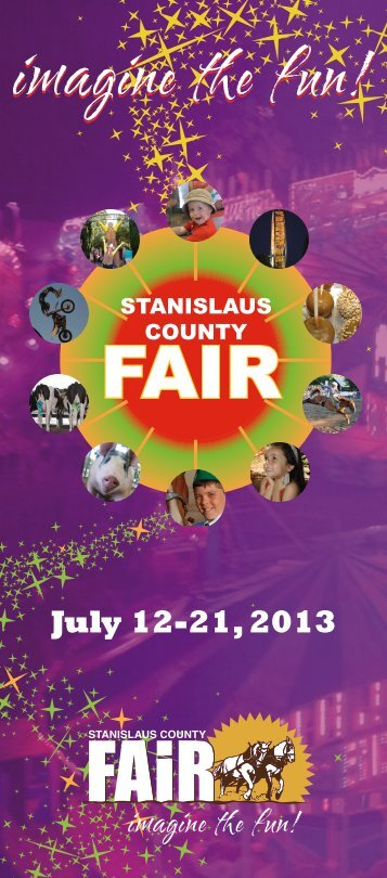 July 12-21, 2013 - Stanislaus County Fair