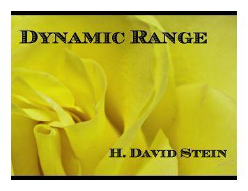 Dynamic Range - Ridgewood Camera Club