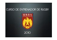 CER clase I 2010 - URBA
