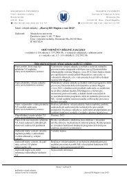 oduvodneni ucelnosti.pdf - E-ZAK MUNI - Masarykova univerzita