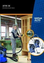 Attix 30 Product Sheet - Logismarket, the Industrial Directory