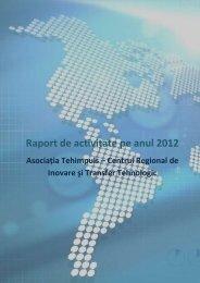 Raport de activitate pe anul 2011 - Tehimpuls