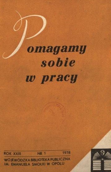 omagamy sobie w pracy - Bibliotekarz Opolski