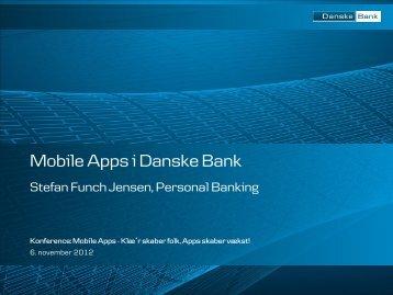 Mobile Apps i Danske Bank