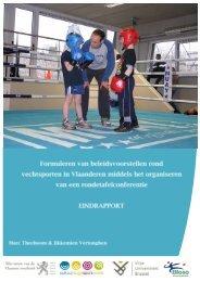 Eindrapport Rondetafelconferentie vechtsporten - Cultuur, Jeugd ...