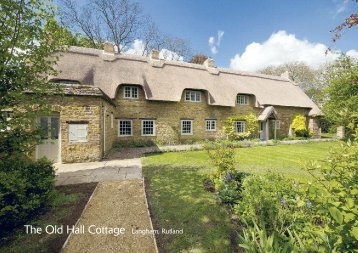The Old Hall Cottage Langham, Rutland