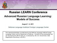 Russian LEARN Conference
