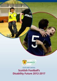 Scotland United: Scottish Football's Disability Future 2012-2017