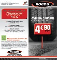 Télécharger le flyer - Roady