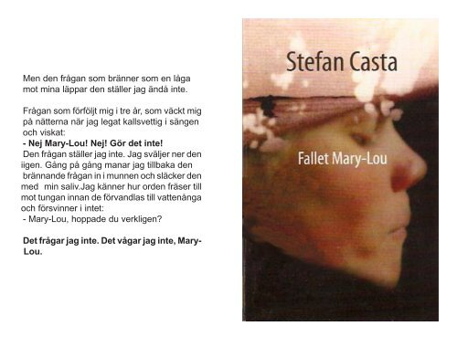 Fallet Mary-Lou - Läs en bok