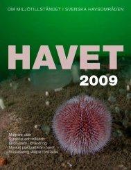 Havet 2009 som pdf - Havsmiljöinstitutet