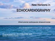 ECHOCARDIOGRAPHY - FCPSA:. Faculty of Consulting Physicians ...