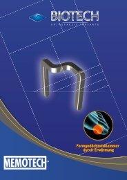 Formgedächtnisklammer durch Erwärmung - Biotech ortho