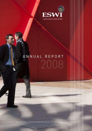 Annual report 2008 - eswi